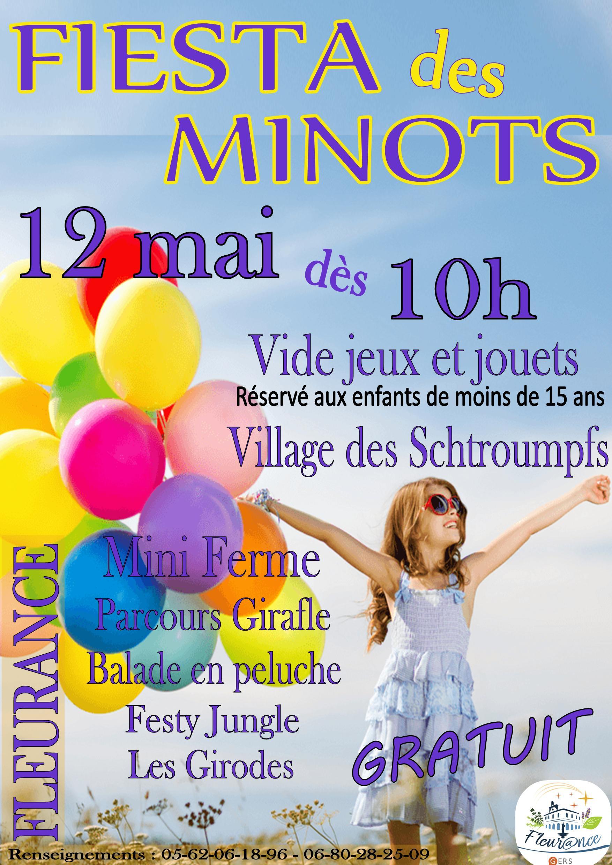 Fiesta Des Minots | Mairie De Fleurance encequiconcerne Jeux De Parcours Gratuit