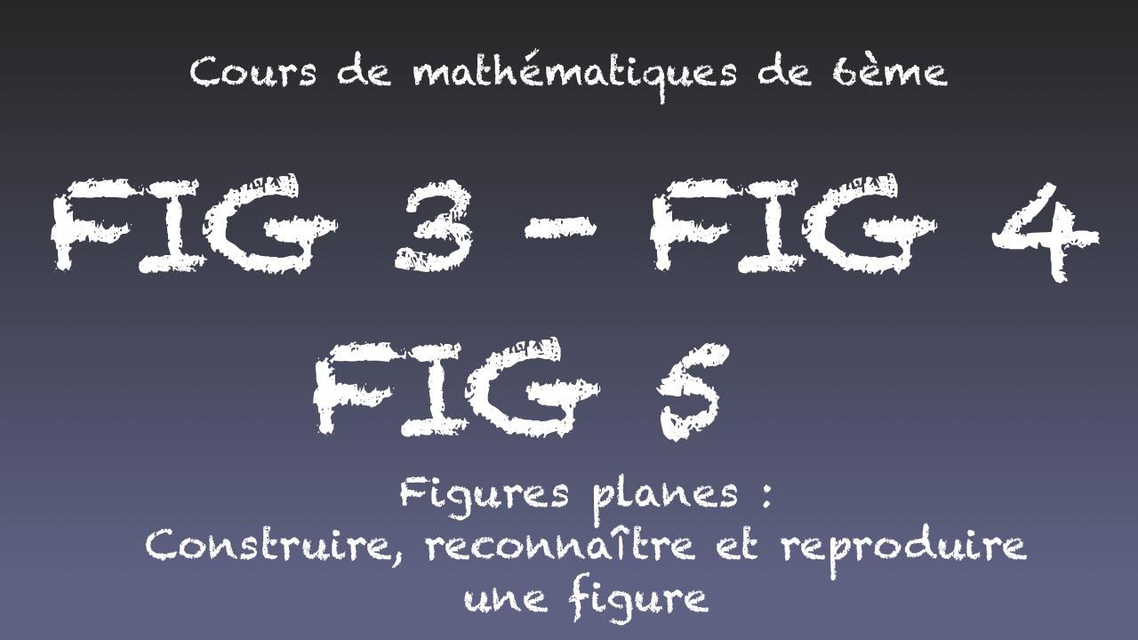 Fig3 - Fig4 - Fig5 - Figures Planes - Construire, Reconnaître Et Reproduire  Une Figure destiné Reproduire Une Figure