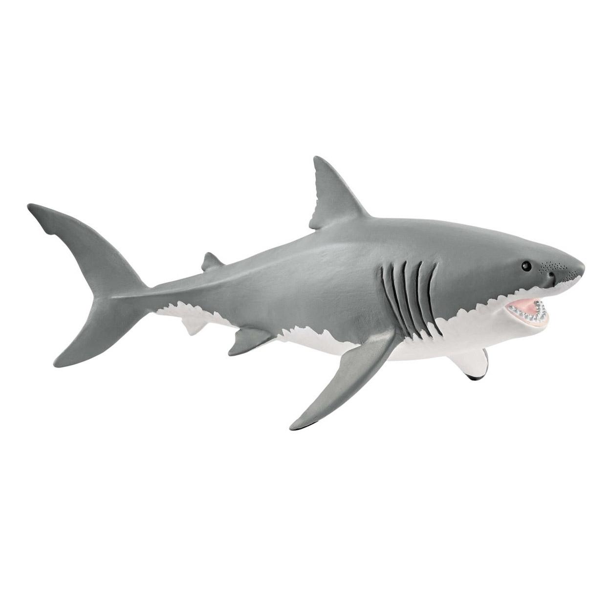 Figurine Requin Blanc concernant Voiture Requin Jouet