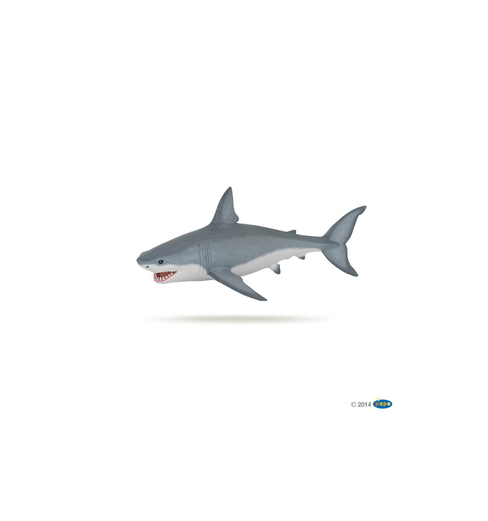 Figurine Requin Blanc pour Jeux Gratuit Requin Blanc