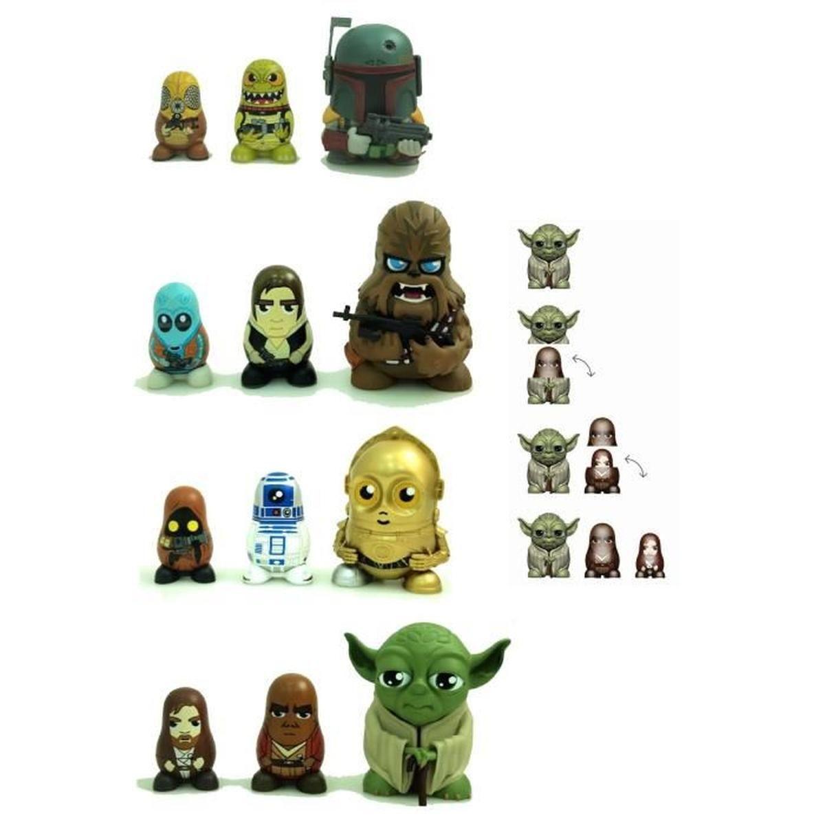 Figurines Poupées Russes 9Cm Star Wars - Achat / Vente tout Nom Poupée Russe