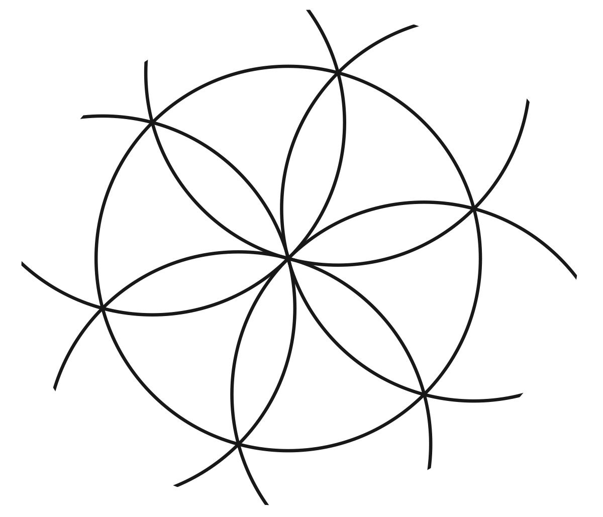 File:academ Rosette.svg - Wikimedia Commons pour Dessiner Une Rosace