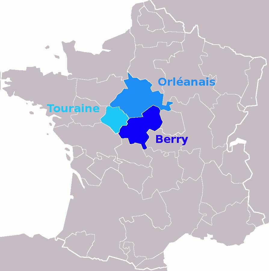File:anciennes Provinces Centre-Val De Loire - Wikimedia intérieur Anciennes Régions