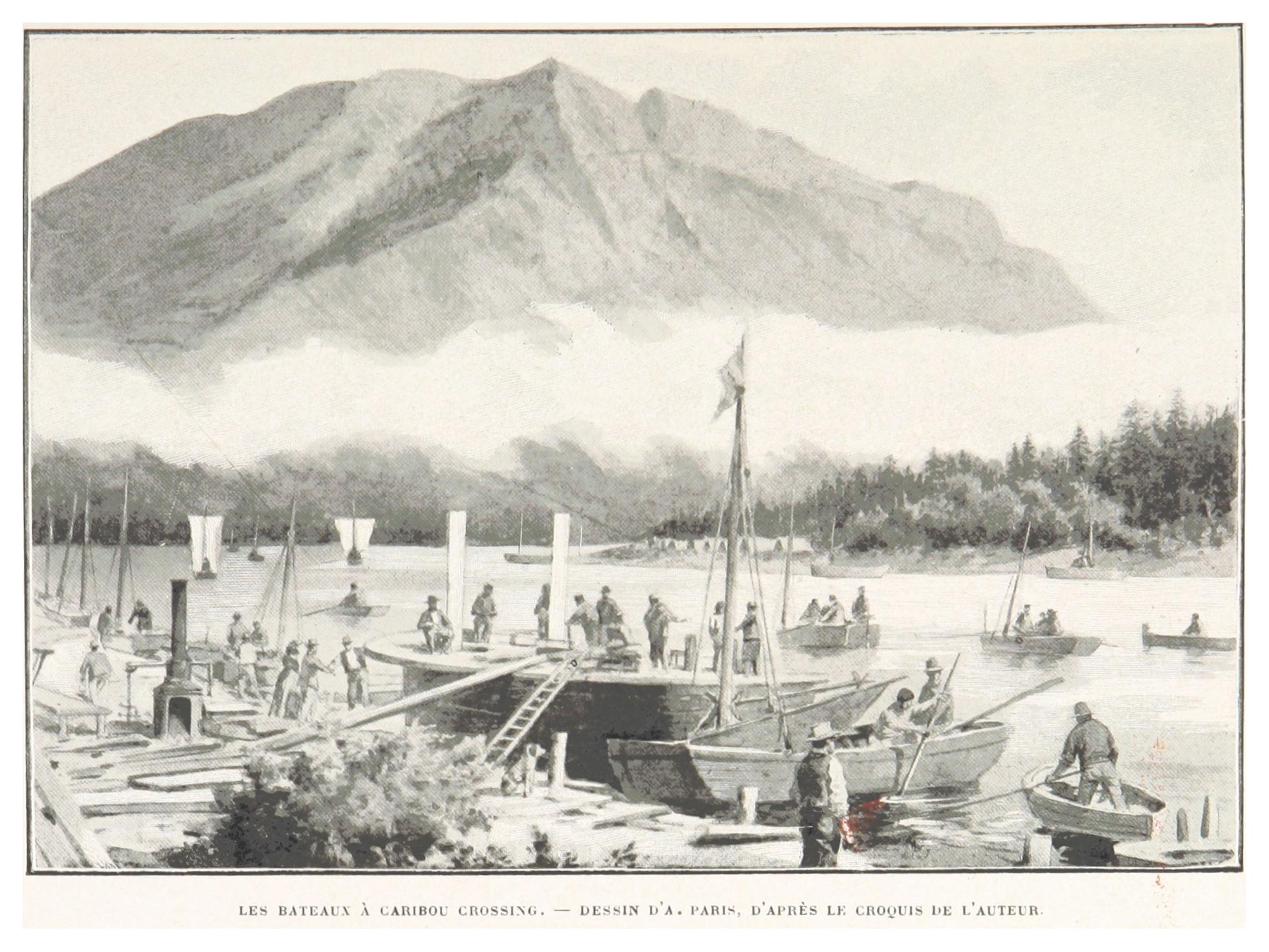 File:boillot(1899) P085 Les Bateaux À Caribou Crossing encequiconcerne Caribou Dessin