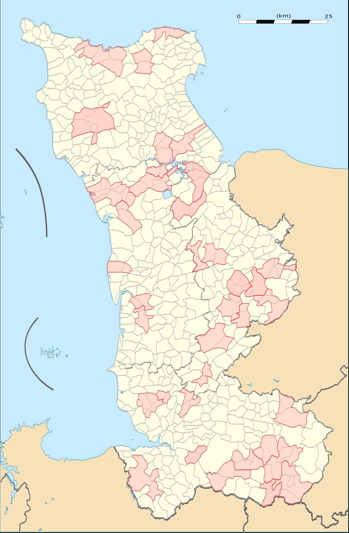 File:carte Du Departement De La Manche Avec Communes pour Carte Avec Les Departement
