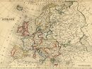 File:carte Europe 1843 - Wikimedia Commons tout Carte Géographique De L Europe