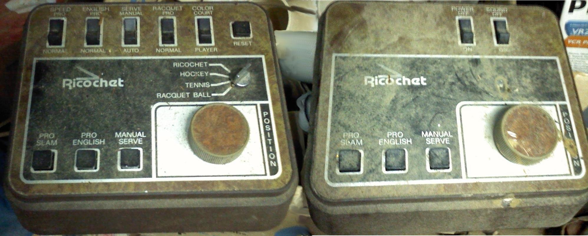 File:color Tv Game System (Mt-1A) By Ricochet Electronic serapportantà Ricochet Jeu