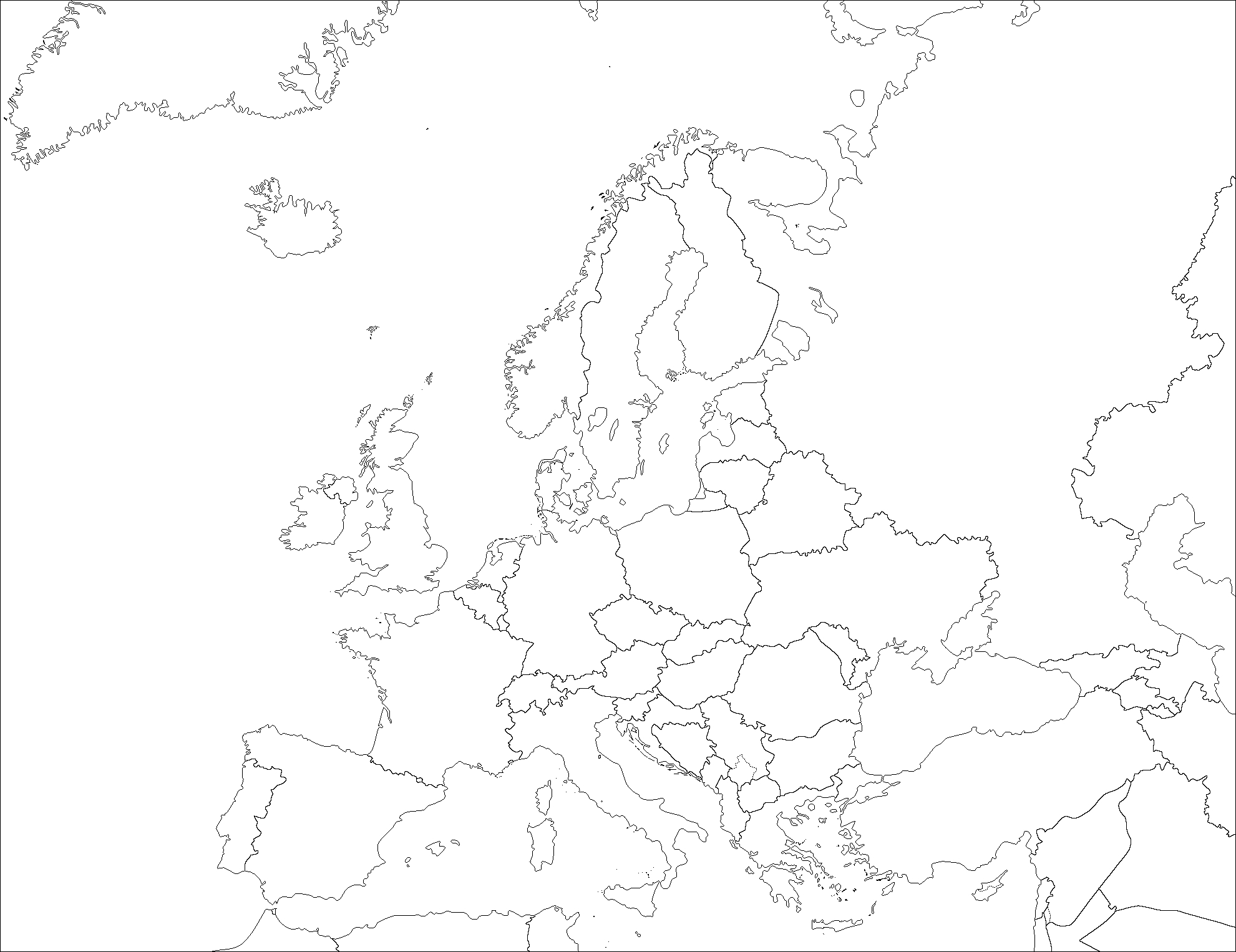 File:europe (Fond De Carte) - Wikimedia Commons serapportantà Carte Europe Vierge