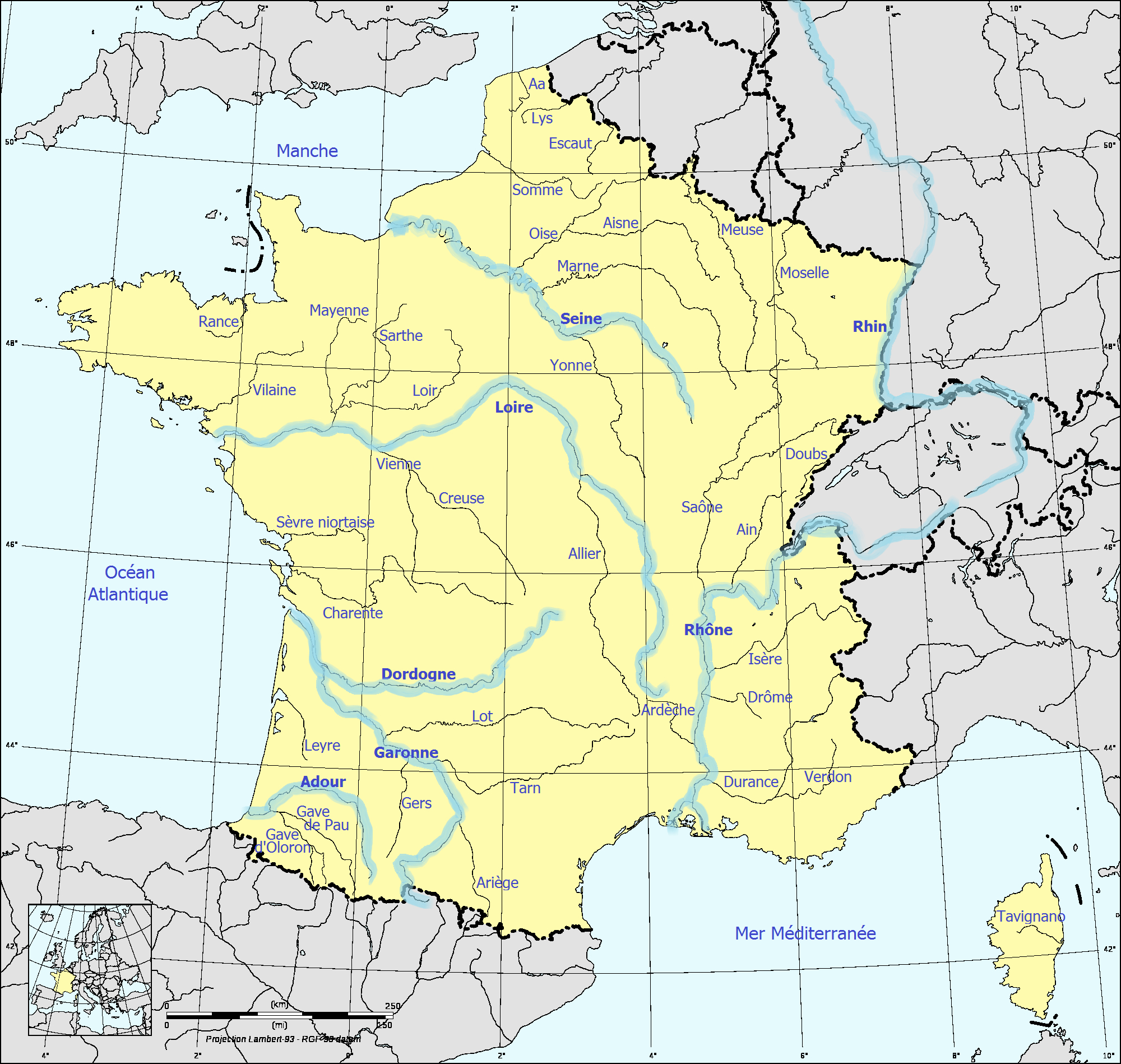 File:france Fluvial - Wikimedia Commons à Carte Fleuve France