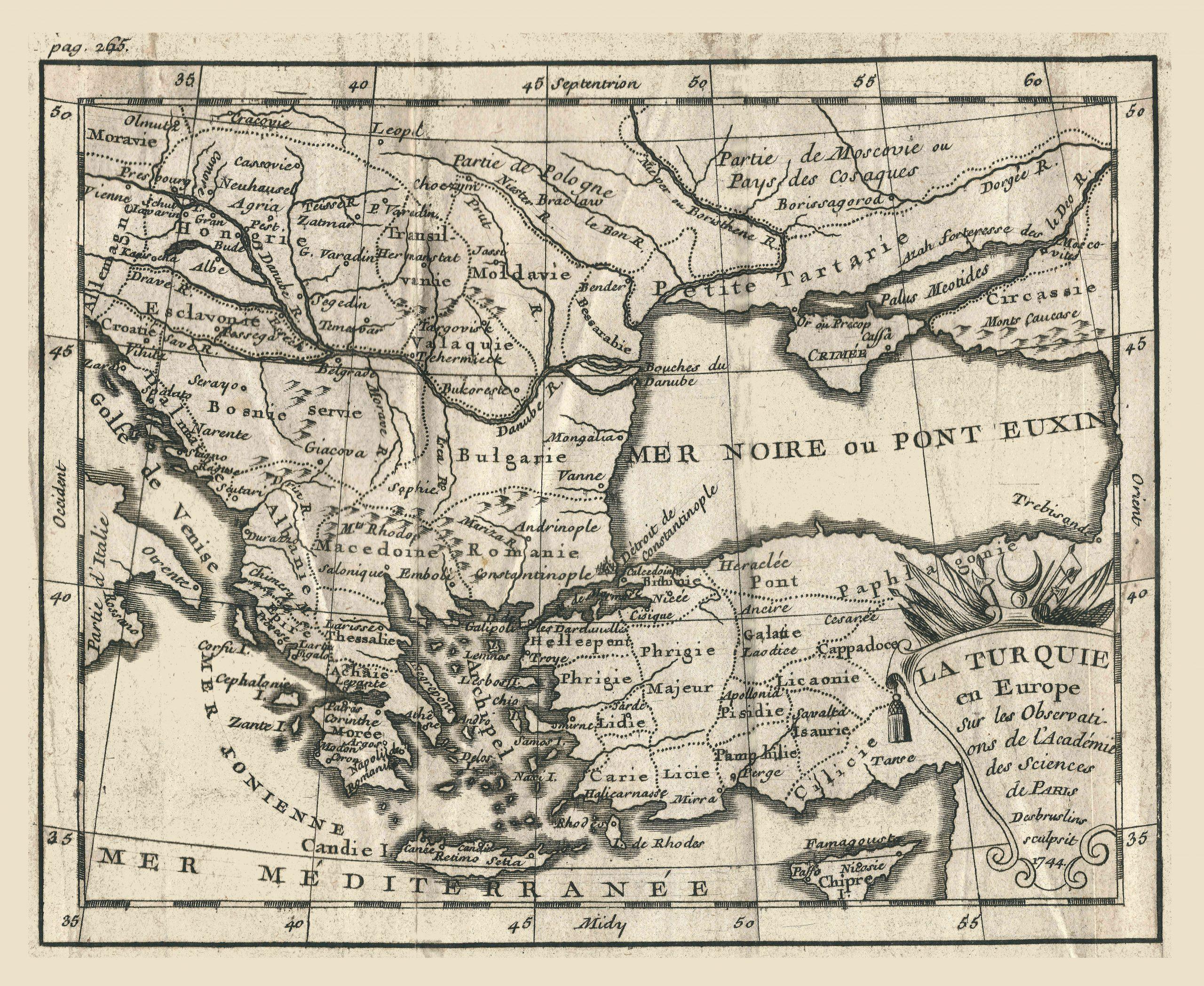 File:géographie Buffier-Carte De La Turquie D'europe encequiconcerne Carte Géographique Europe