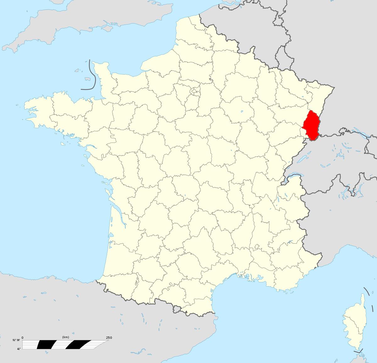 File:haut-Rhin Departement Locator Map.svg - Wikimedia Commons dedans Departement Francais Carte