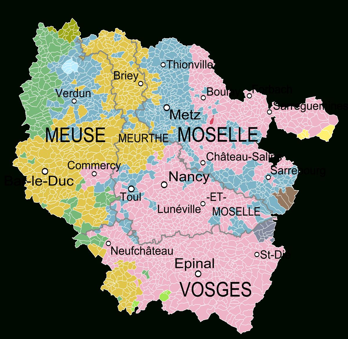 File:lorraine Et Anciennes Provinces.svg - Wikimedia Commons avec Carte De France Avec Region
