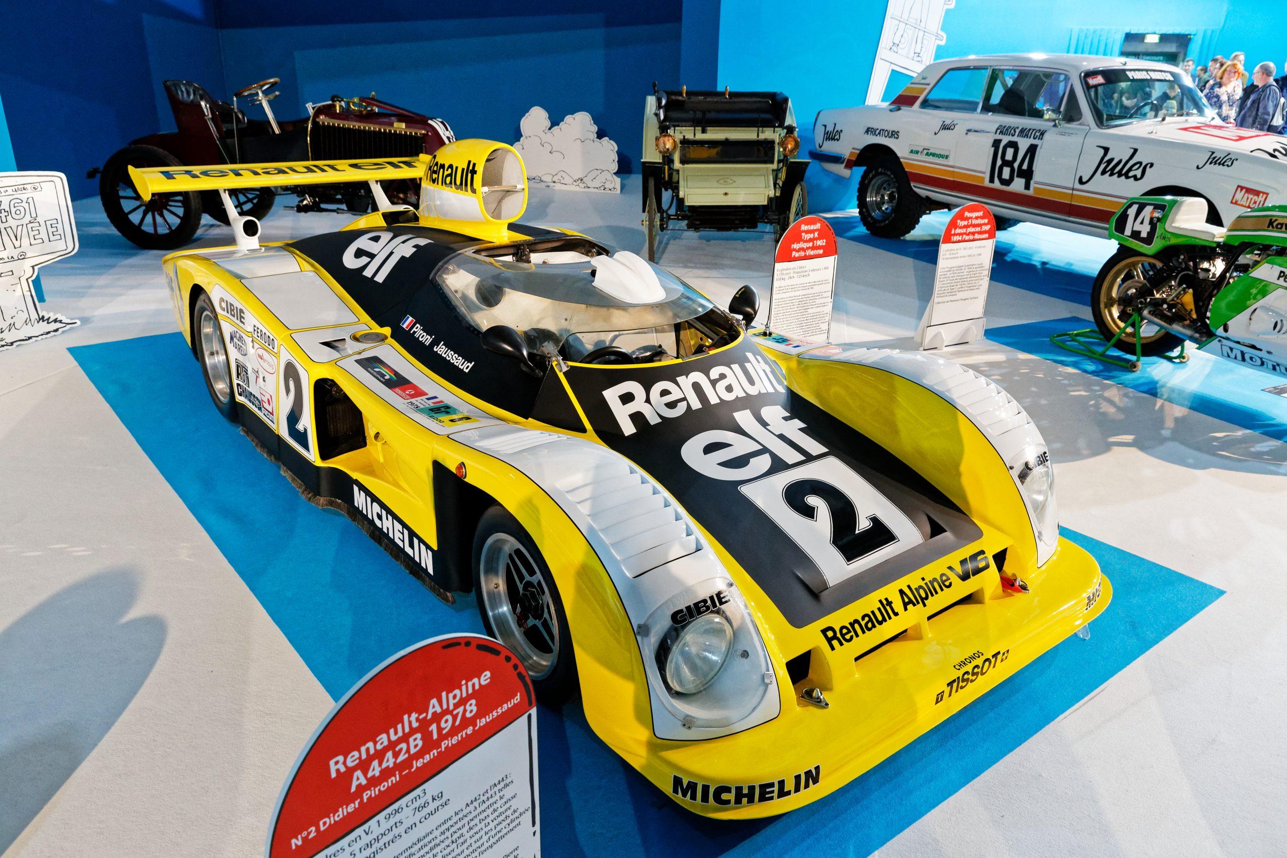 File:renault-Alpine A442B - 1978 - Mondial De L'automobile tout Un Mot Pour Quatre Images