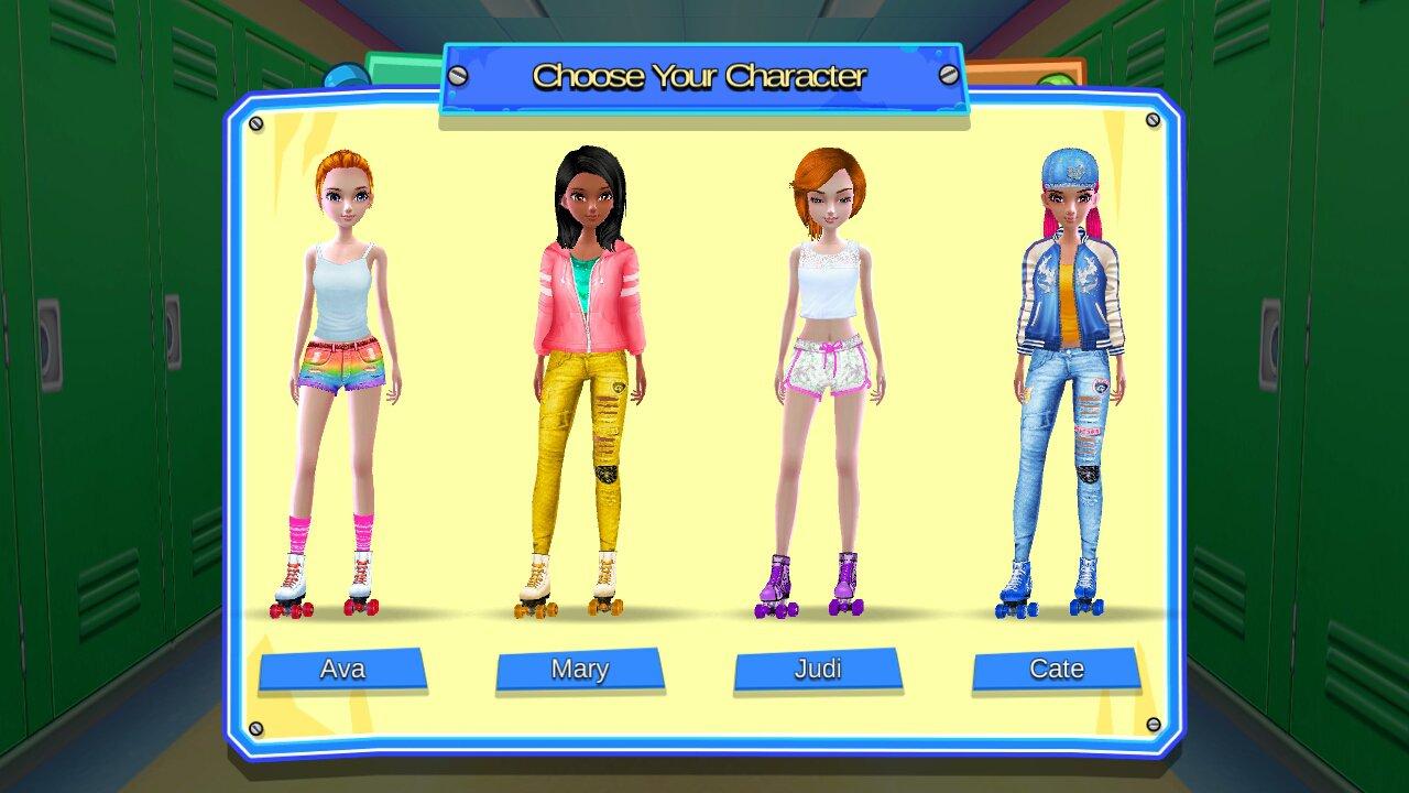 Filles En Roller - Danse Sur Roulettes 1.0.1 - Télécharger destiné Tout Les Jeux De Fille Gratuit