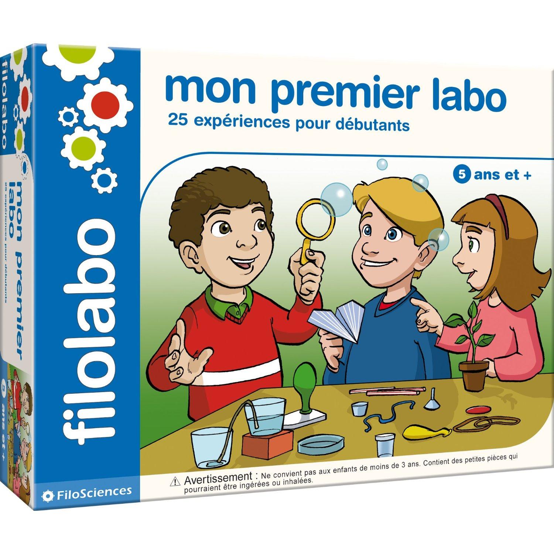 Filosofia - Filolabo - Mon Premier Labo - 25 Expériences Pour Débutants destiné Jeux Educatif 5 Ans