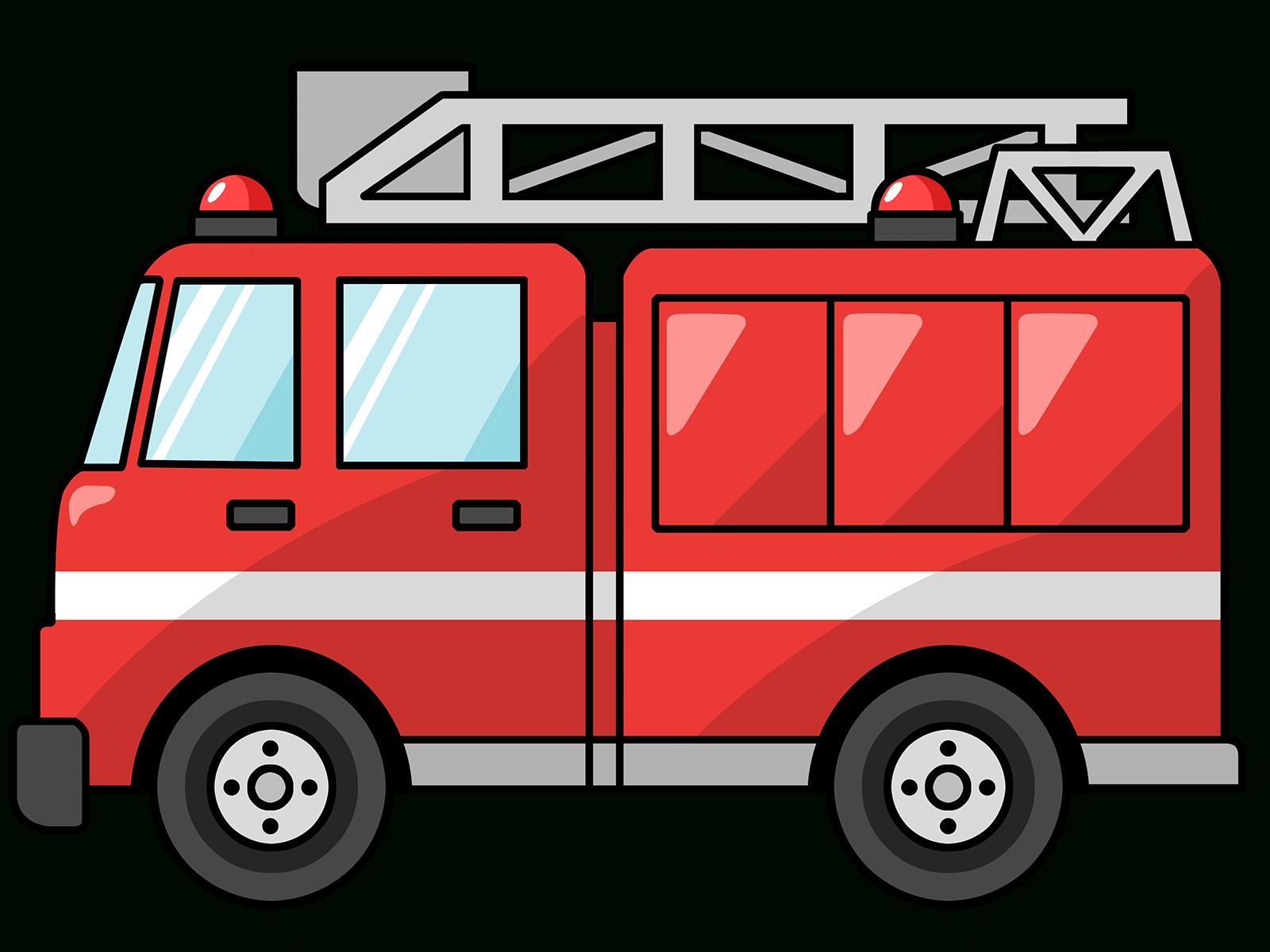 Fire Truck Clipart | Pompier, Coloriage Camion, Anniversaire tout Jeux De Camion De Pompier Gratuit