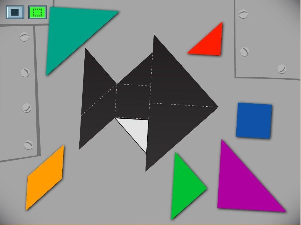Fish Tangram Game | Game | Education encequiconcerne Tangram Simple