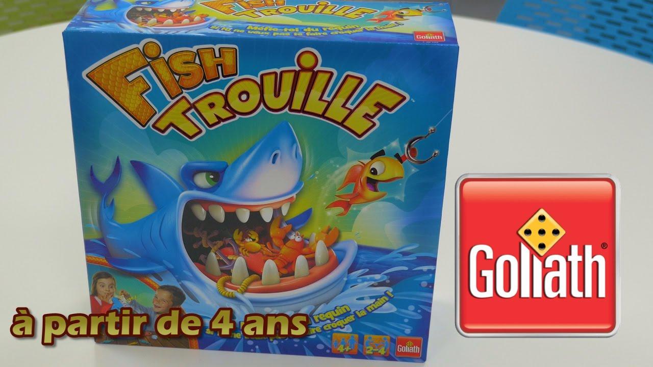 Fish Trouille De Goliath - Démo En Français dedans Jeu De Societe Requin