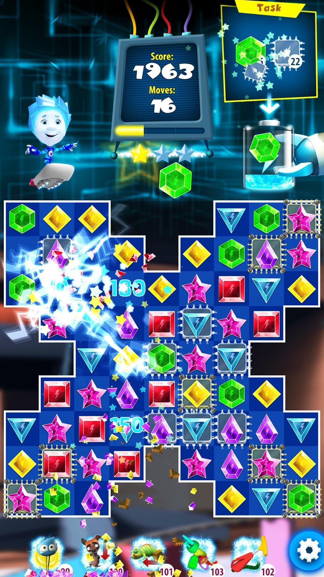 Fixies Boom! Jeux Trois En Ligne Ok Enfants Puzzle Pour serapportantà Puzzle Enfant En Ligne