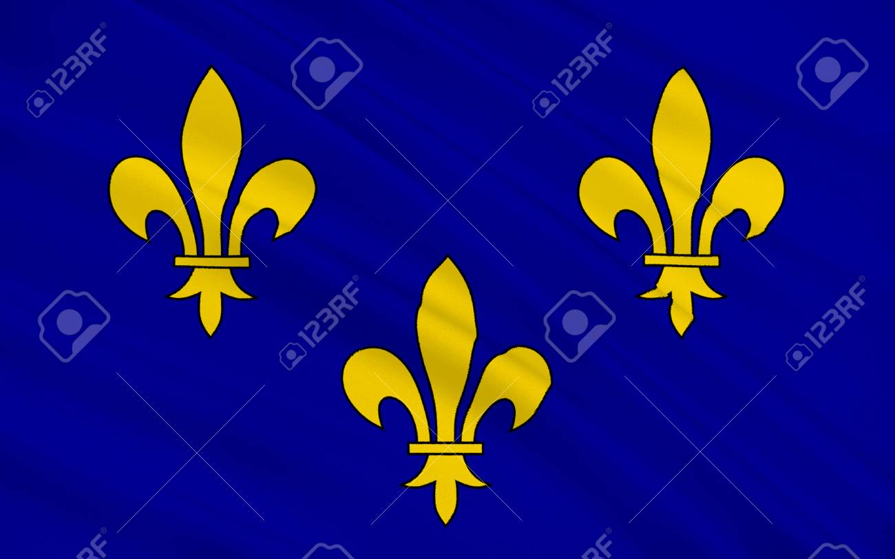 Flag Of Ile-De-France Also Known As The Région Parisienne Is One Of The 18  Regions Of France, And Includes The City Of Paris destiné R2Gion France