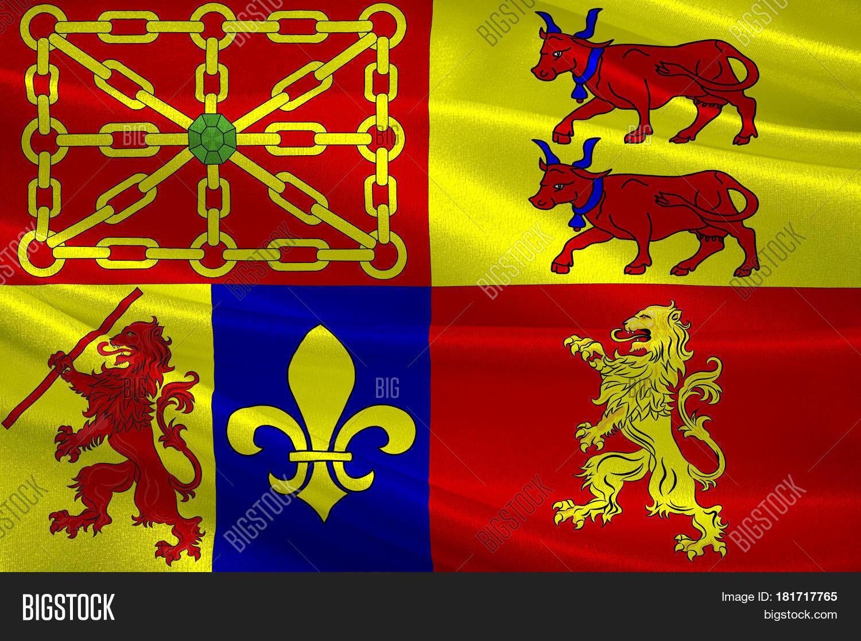 Flag Pyrenees- Image & Photo (Free Trial) | Bigstock à Nouvelle Region France