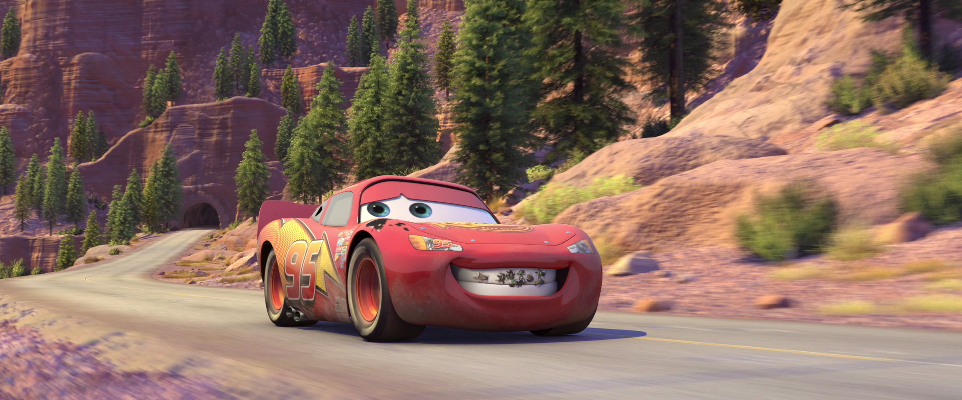 "Flash Mcqueen, Personnage Dans ""cars"". 