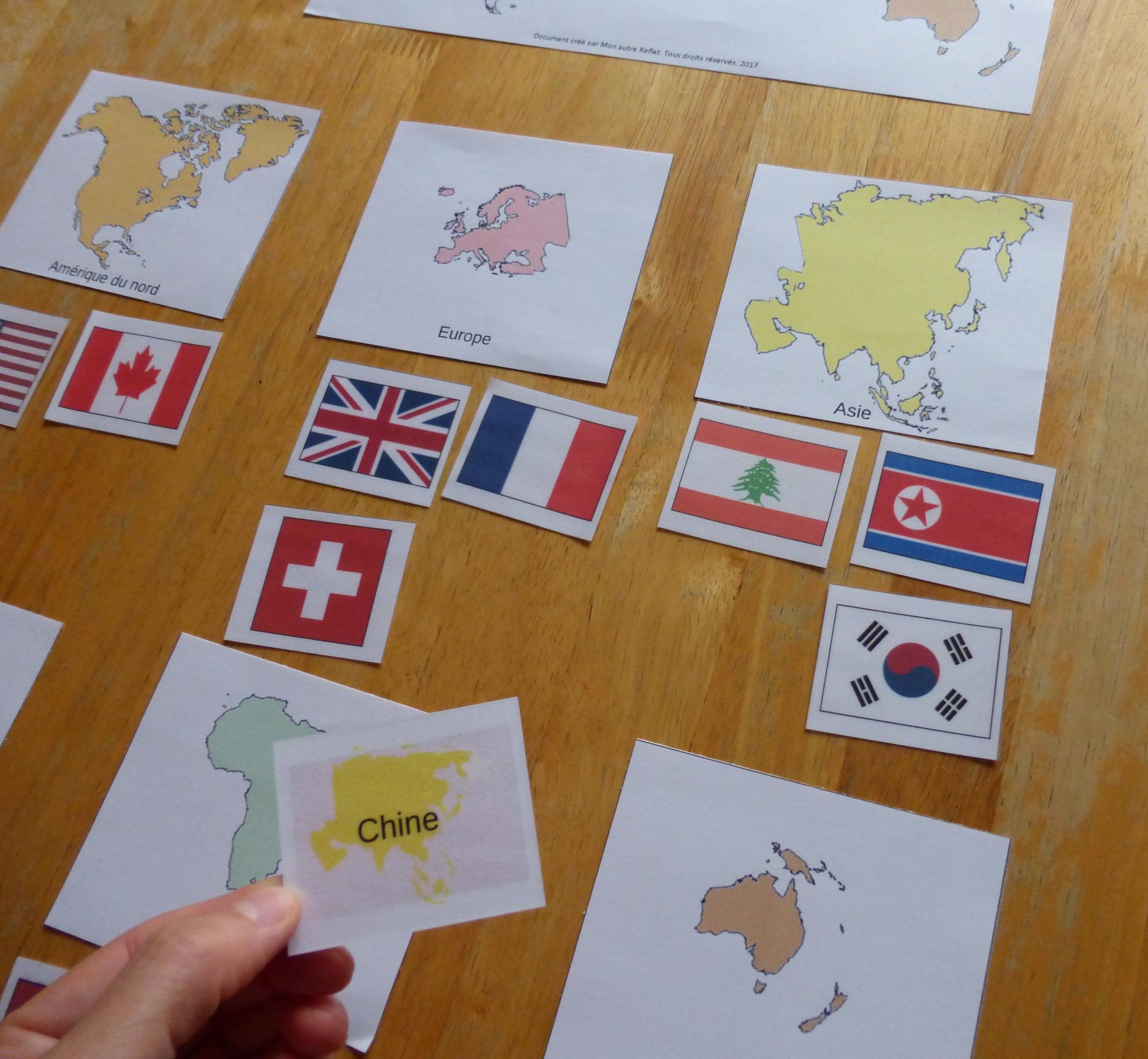 Flashcards Des Drapeaux Du Monde destiné Drapeaux Européens À Imprimer