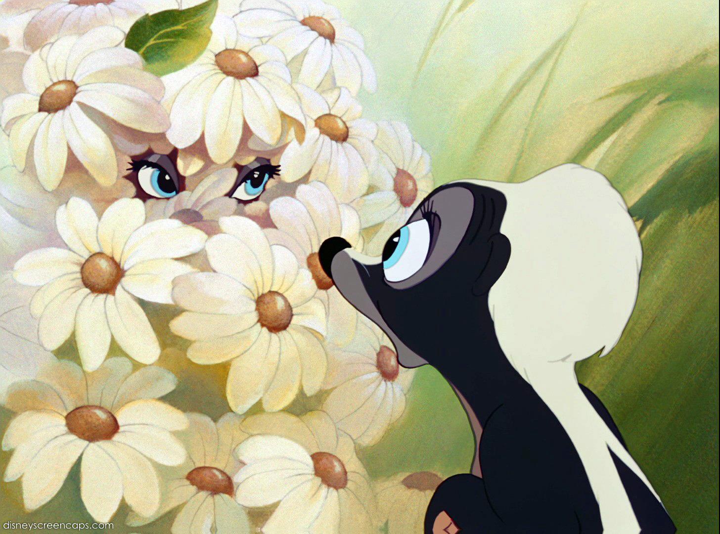 Fleur (Disney) — Wikipédia concernant Dessin Moufette