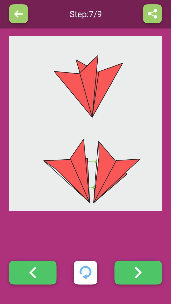 Fleurs Et Plantes En Origami: Schémas En Papier Pour Android tout Schéma D Une Fleur