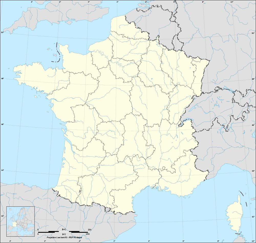 Fond De Carte De France Vierge Avec Rivières, Fleuves Et concernant Carte De France Avec Les Régions