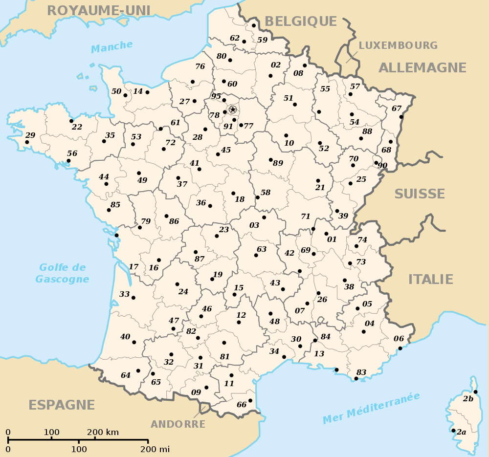 Fond De Carte Des Regions Et Départements encequiconcerne Carte Des Régions Vierge