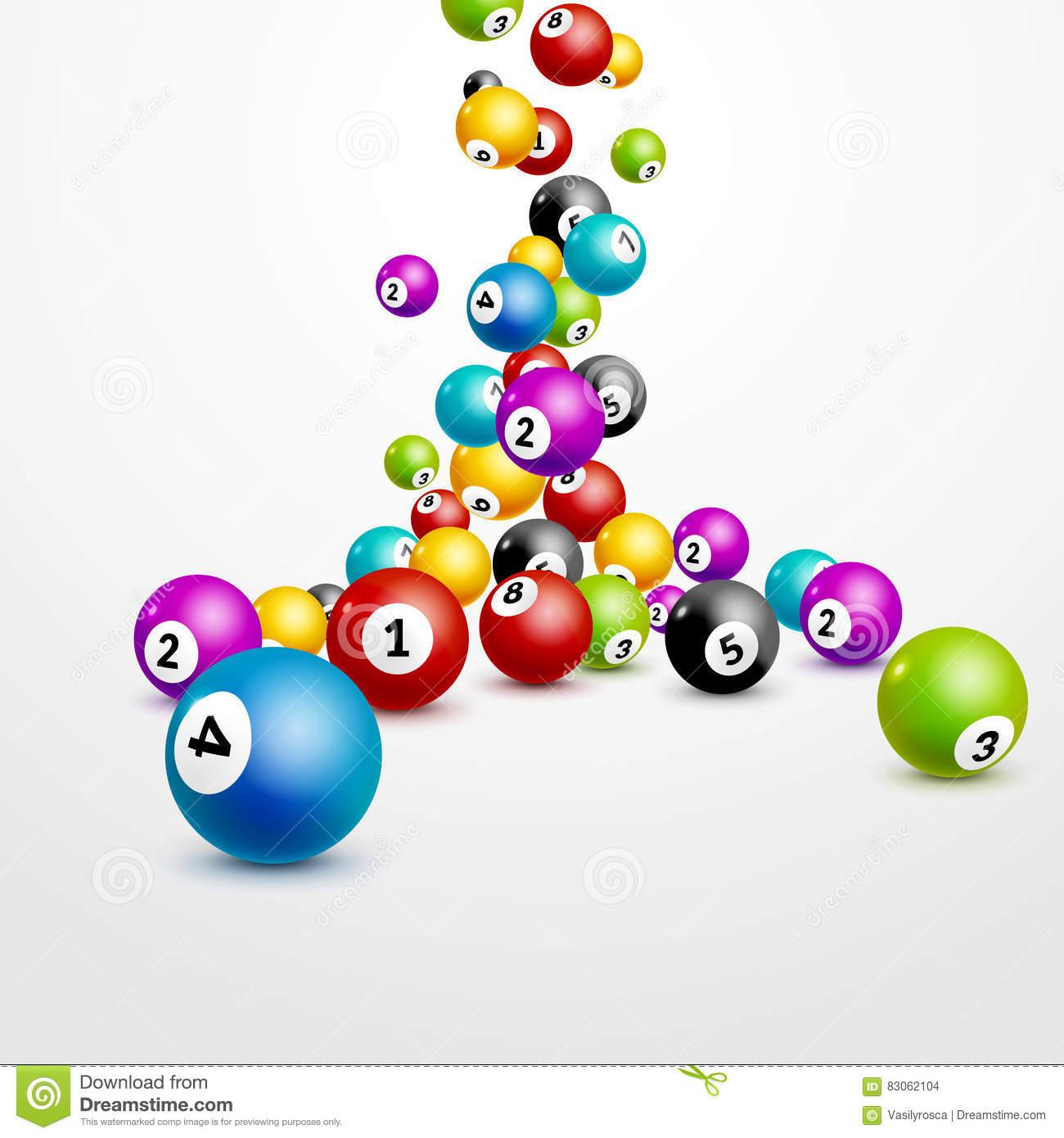 Fond De Nombres De Boules De Loterie De Bingo-Test Boules De à Jeux De Billes Gratuits