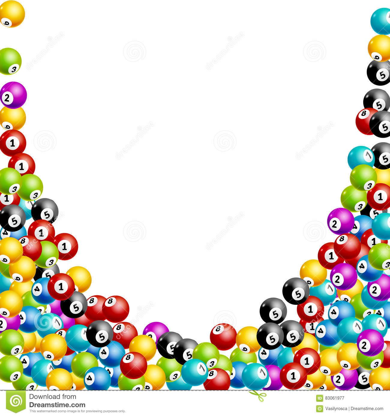 Fond De Nombres De Boules De Loterie De Bingo-Test Boules De dedans Jeux De Billes Gratuits
