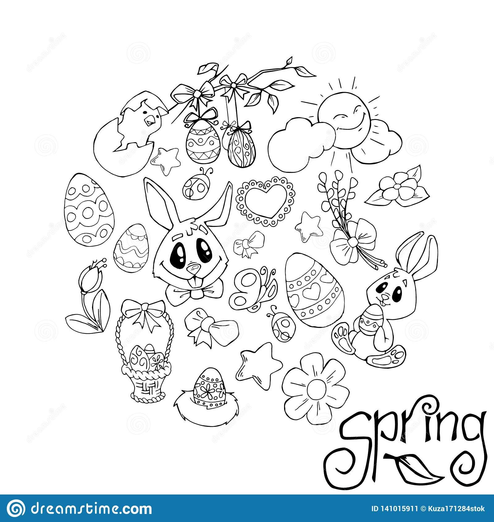 Fond De Pâques, Modèle D'oeufs Carte De Voeux Heureuse De avec Dessin Pour Paques