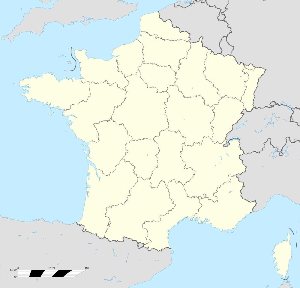 Fonds De Cartes De France Des Régions intérieur Carte Vierge De France