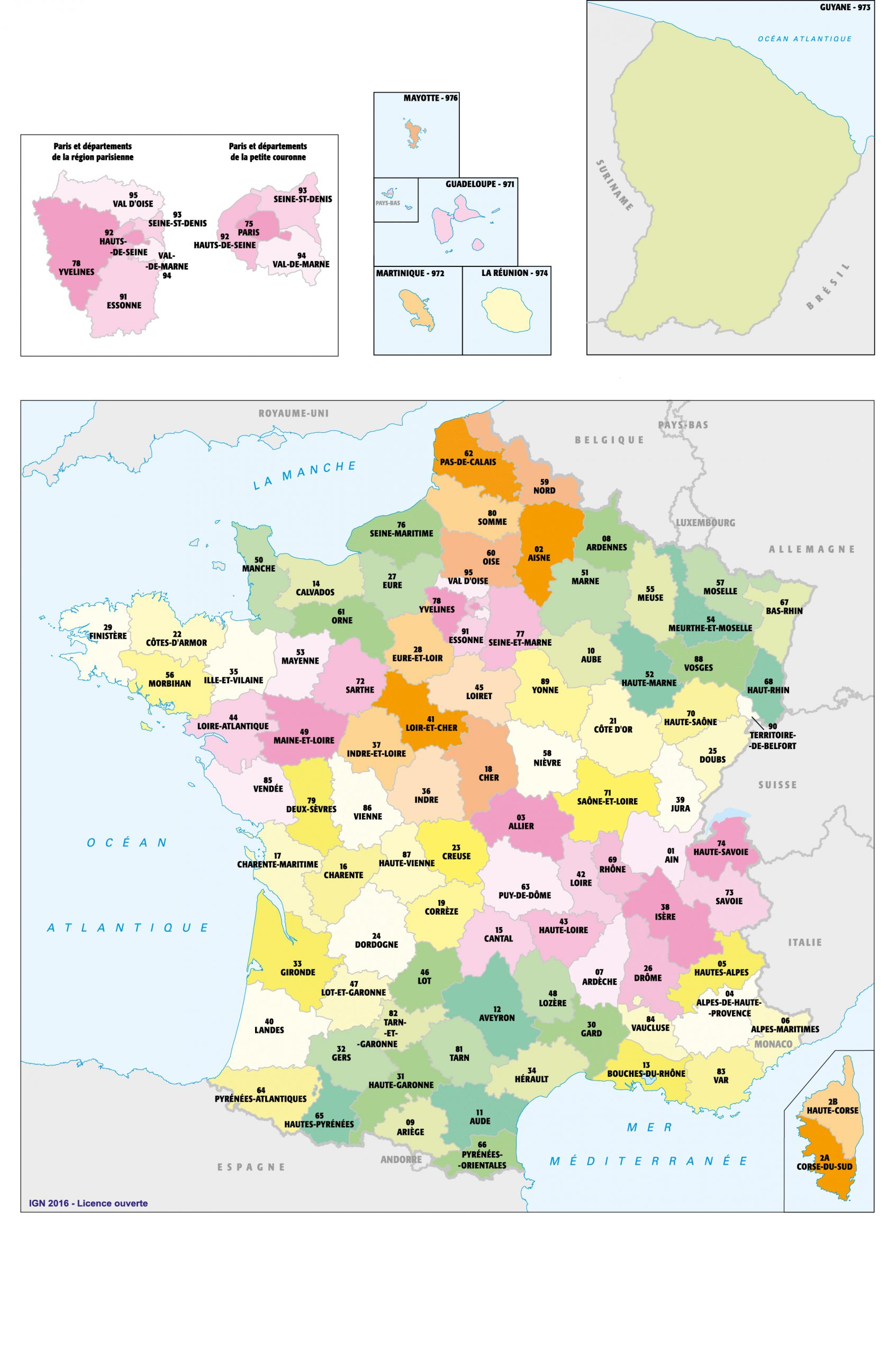 Fonds De Cartes | Éducation avec Carte De France Avec Region