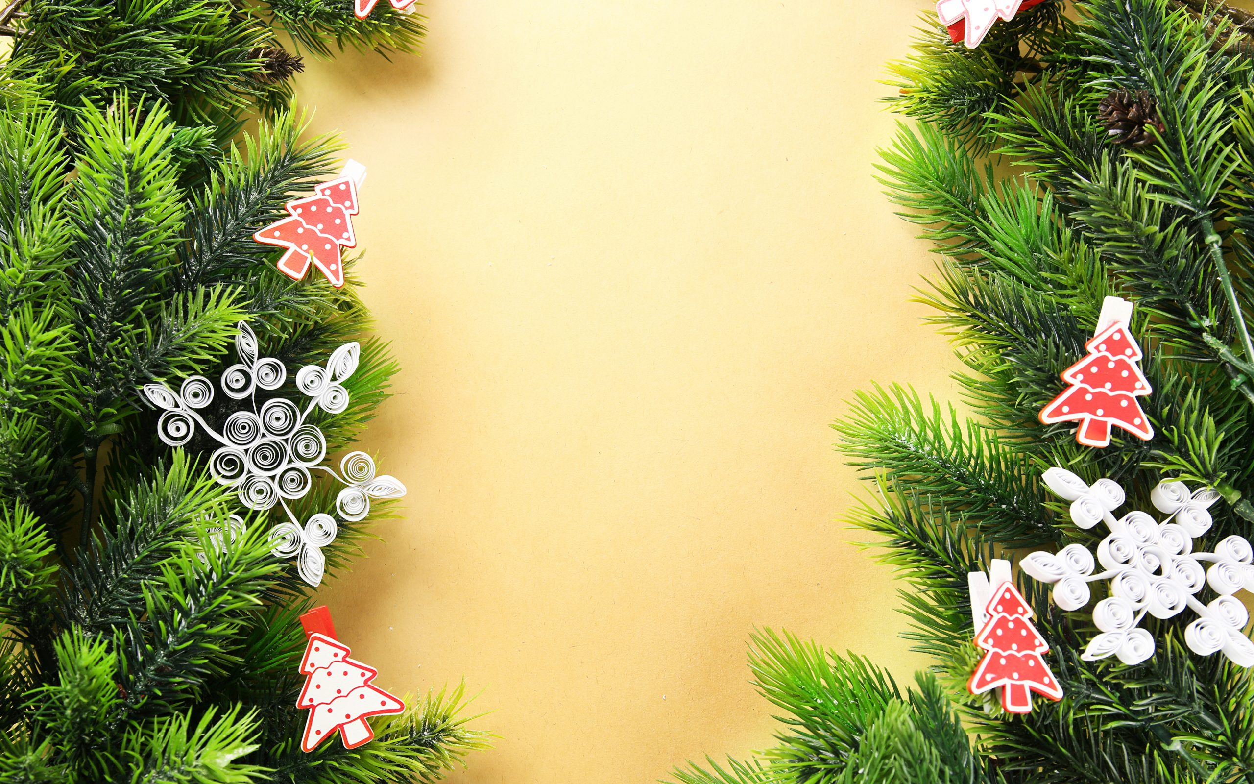 Fonds D'ecran 3840X2400 Nouvel An Jour Fériés Gabarit Carte avec Gabarit Sapin De Noel