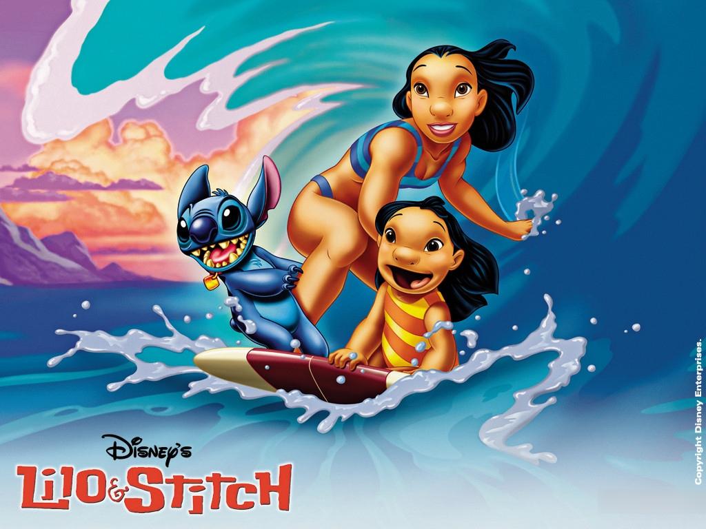 Fonds D'ecran Disney Lilo & Stitch Dessins Animés concernant Lilo Et Stitch Dessin Animé