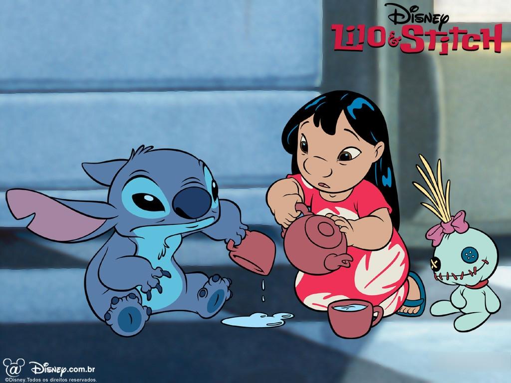 Fonds D'ecran Disney Lilo & Stitch Dessins Animés pour Lilo Et Stitch Dessin Animé