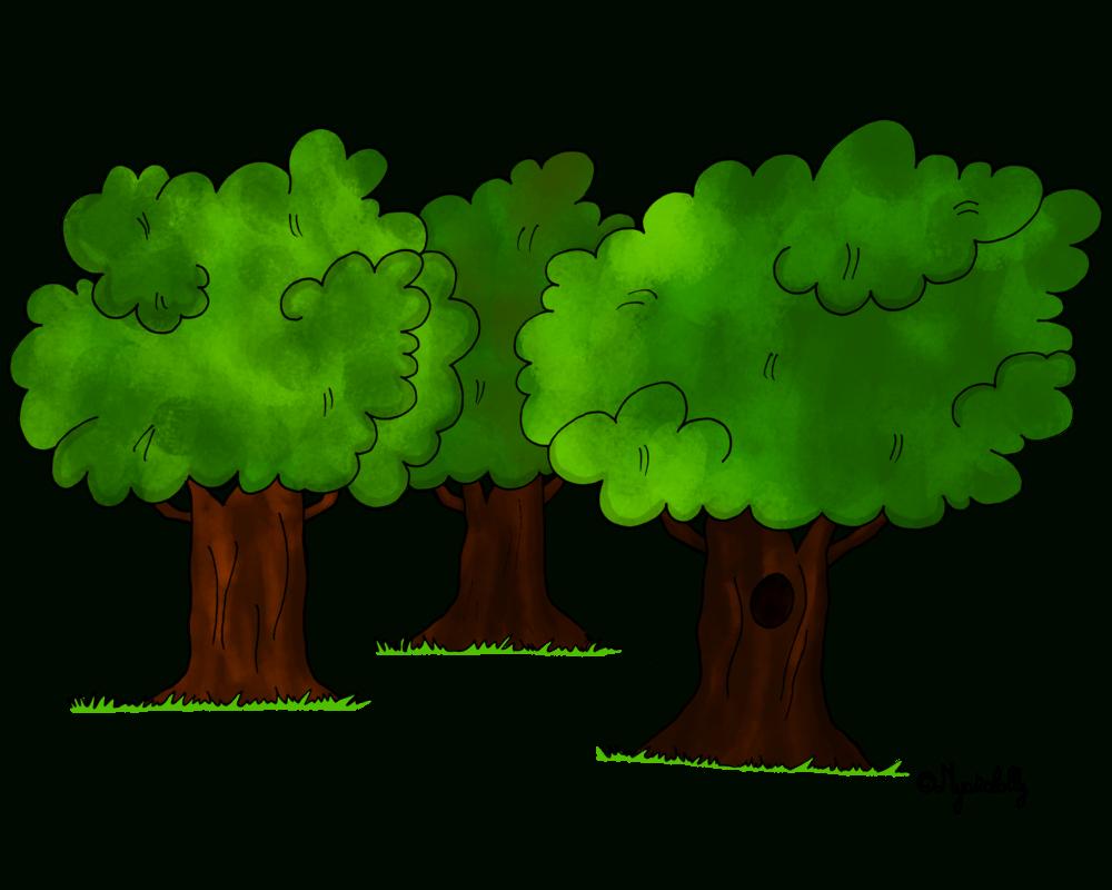 Foret Dessin Png 3 » Png Image avec Dessin De Foret