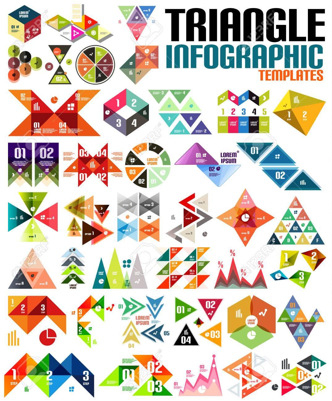 Forme Géométrique Graphie Jeu De Modèle - Triangles, Des Carrés, Des  Formes Abstraites. Pour Des Bannières, Des Milieux D'affaires, Présentations pour Jeu De Forme Géométrique