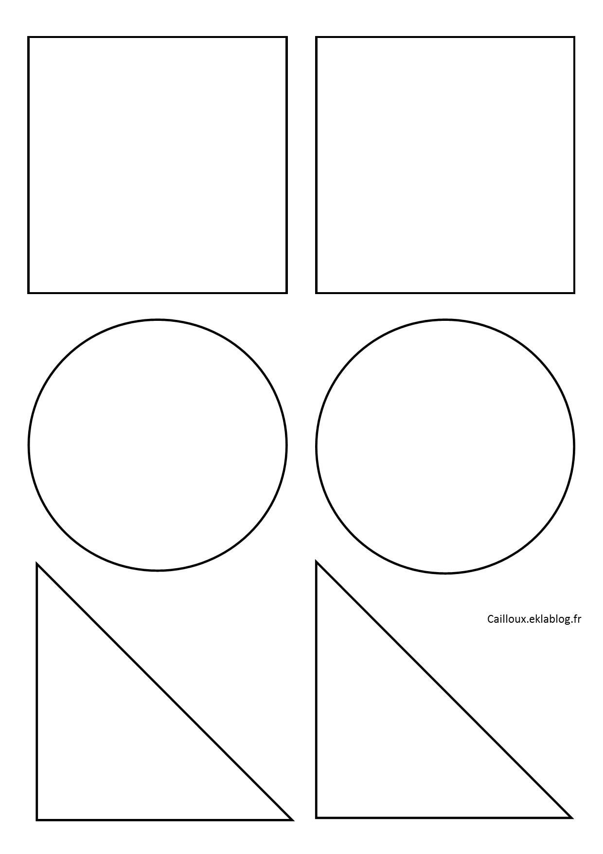 Formes Géométriques Et Découpage - La Maternelle D'isadis7 à Decoupage Pour Enfant