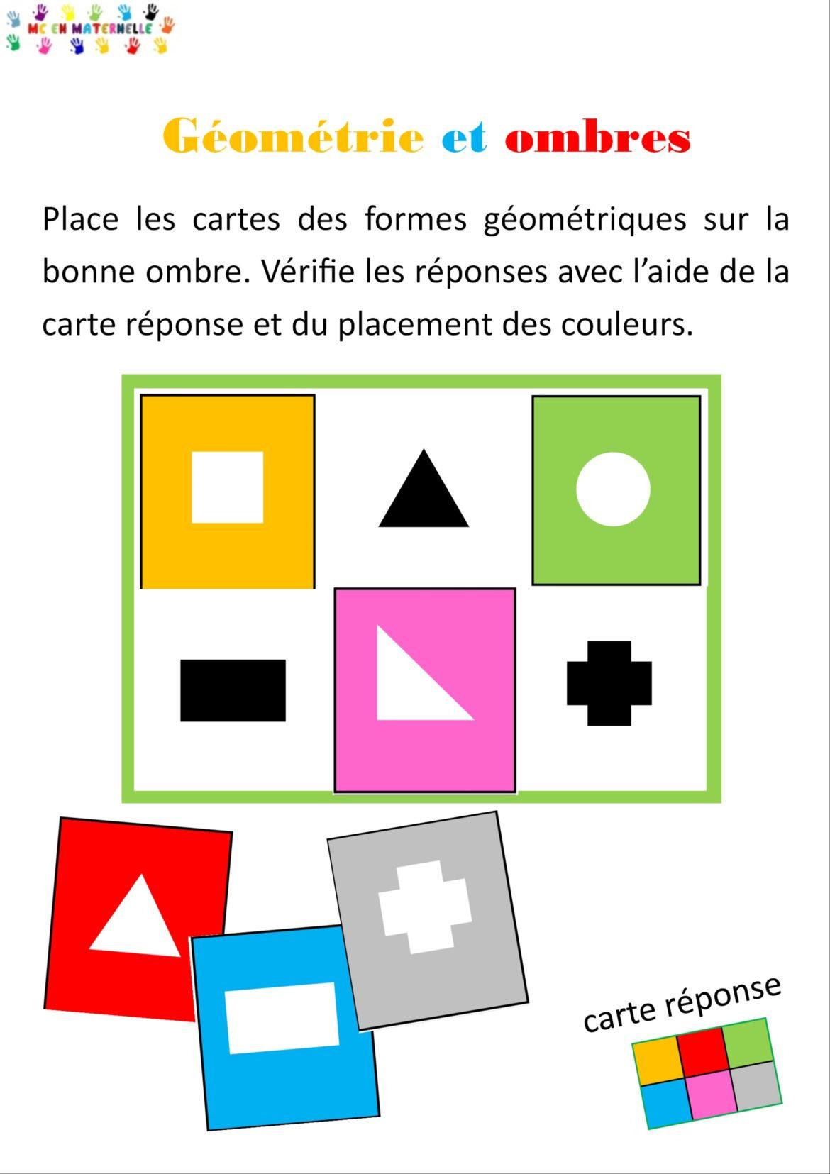 Formes Géométriques – Mc En Maternelle intérieur Les Formes Geometrique