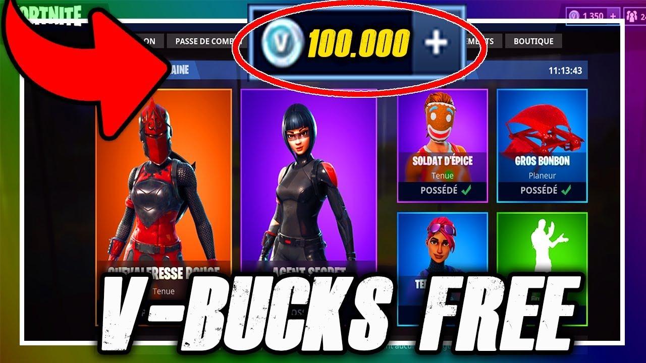 Fortnite | Avoir Des V-Bucks Gratuitement & Facilement ! tout Jeux De Piece Gratuit