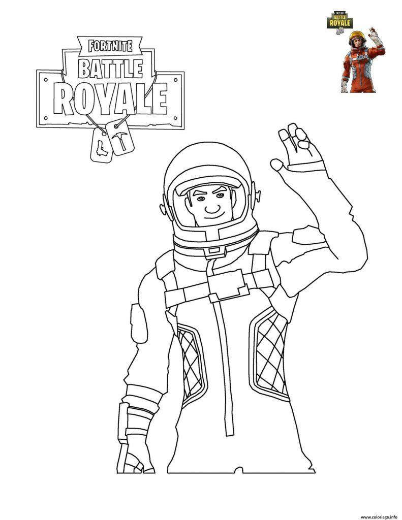 Fortnite Coloring Pages | Coloriage, Dessin Coloriage Et tout Coloriage Astronaute