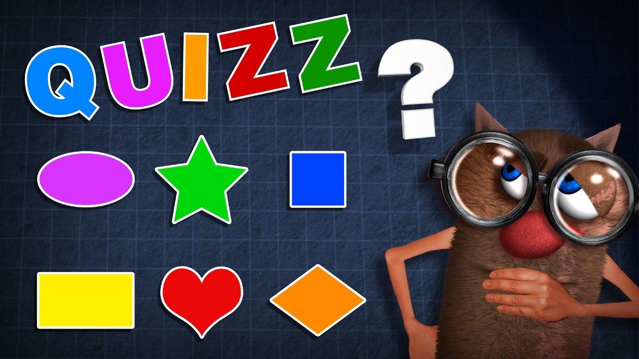 Foufou - Quizz Formes Pour Les Enfants (Learn Shapes For Kids - Serie 01) encequiconcerne Quizz Pour Maternelle