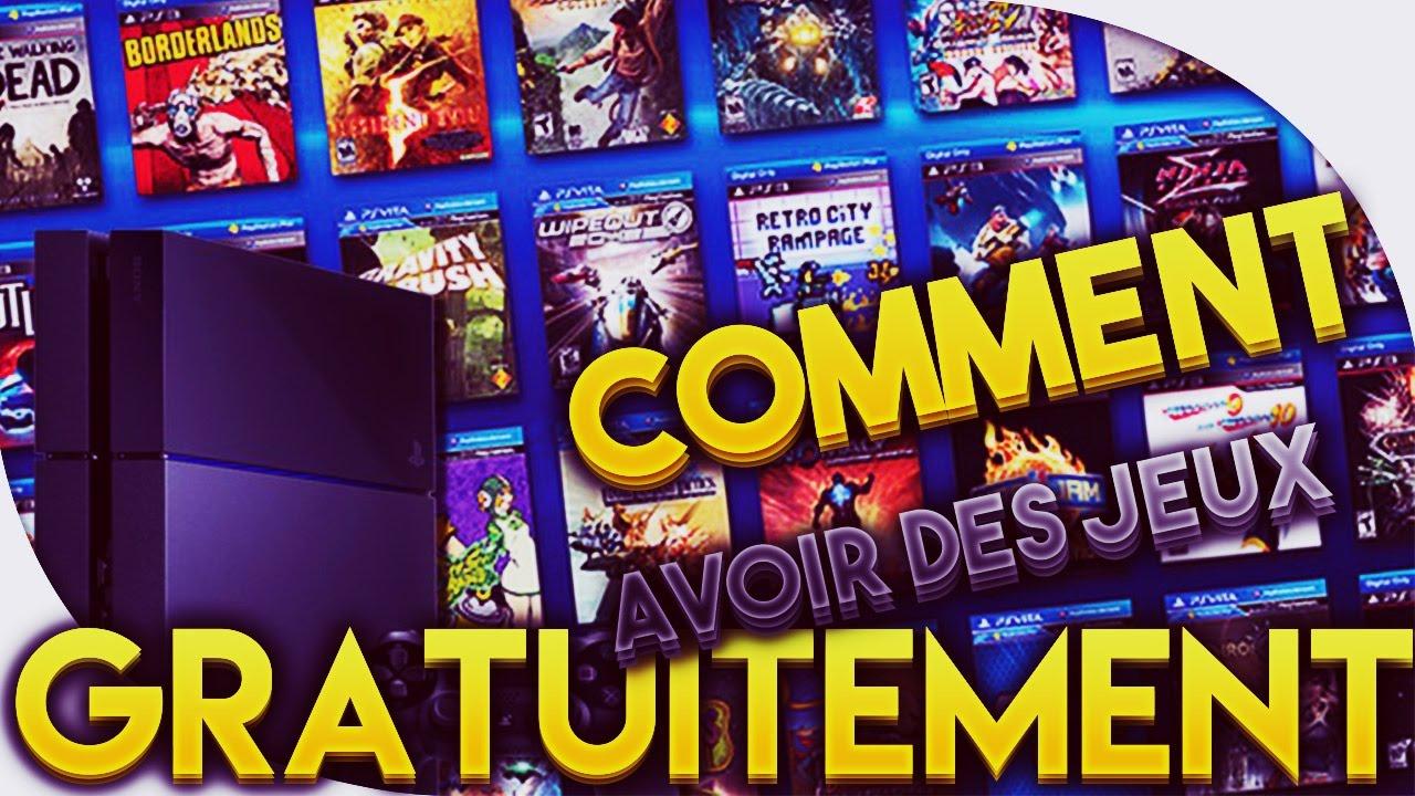 [Fr] [Tuto] Avoir Des Jeux Et Abonnement Gratuitement Sur Ps4 A Vie En 2018  [ Humour ] destiné Jeux De Tout Gratuit