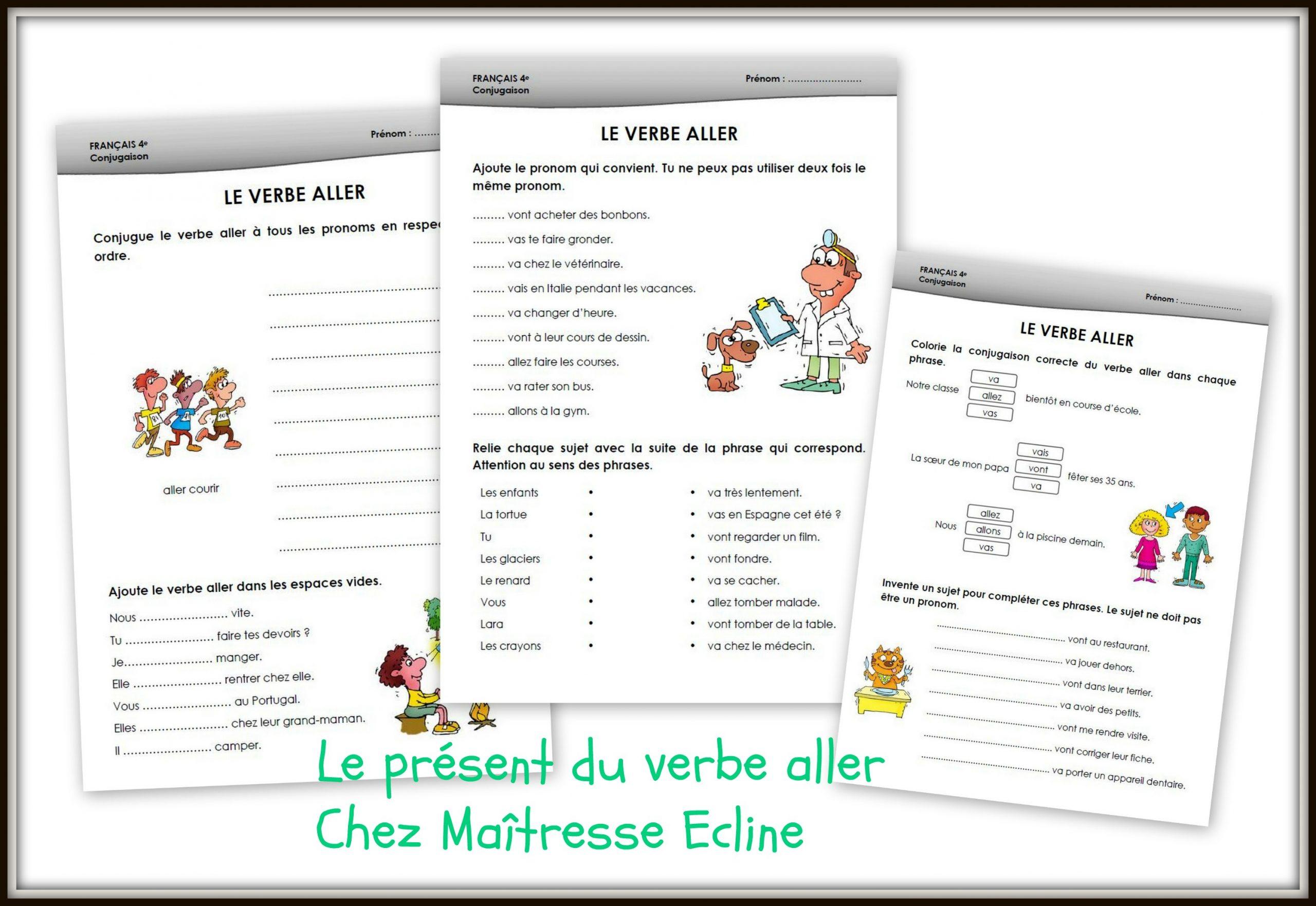 Français 4E Harmos (Ce1) - Chez Maîtresse Ecline dedans Cours Ce1 Gratuit A Imprimer