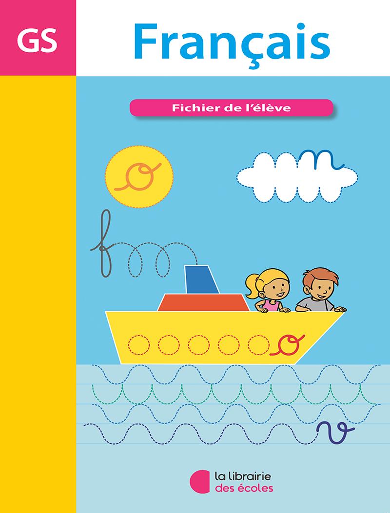 Français - Fichier De L'élève - Grande Section De Maternelle destiné Livre Graphisme Maternelle