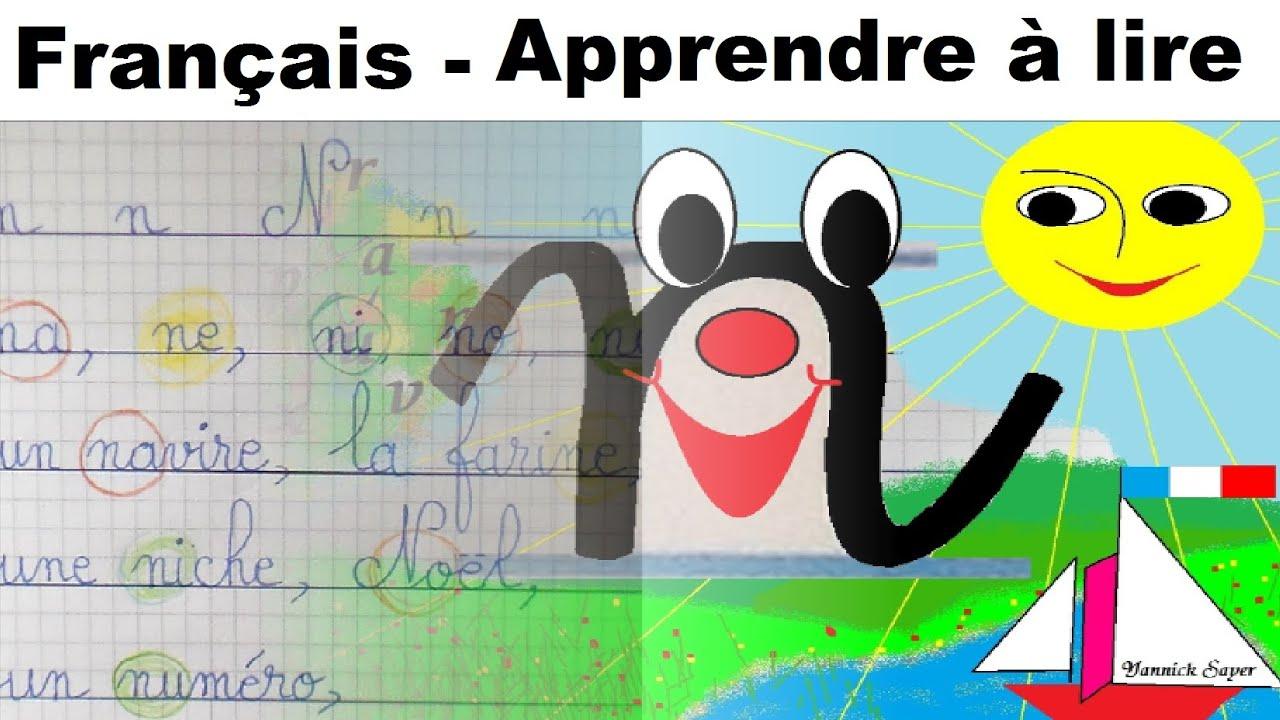 Français Maternelle Apprendre À Lire Au Cp Et Écrire La Lettre N, N encequiconcerne Apprendre Ecriture Maternelle
